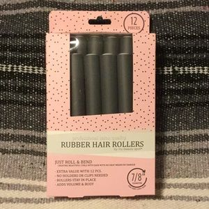 Accessories - Jumbo Rubber Hair Rollers for no-heat curls!